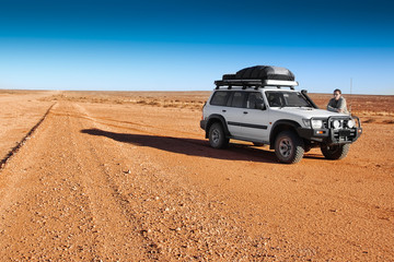 lost in outback Australia