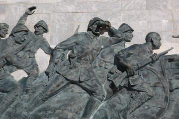 Gelibolu, Çanakkale Savaşlarını Anlatan Rölyef