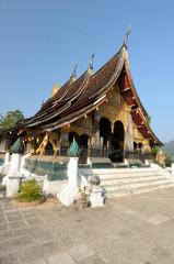 The Wat Xieng Thong in Luang Prabang, Laos