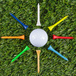 Golf ball star