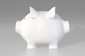 Piggy bank - two faces