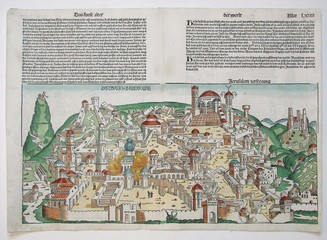 Jerusalem old map