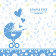 baby birth card