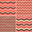 Seamless Chevron Patterns Collection