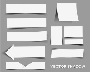vector shadow design