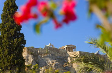 Acropolis at Athens, Greece