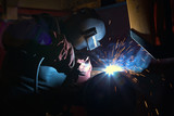 welder in factory