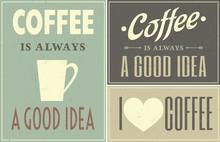 Vintage Café Collage