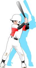 野球少年@左バッター