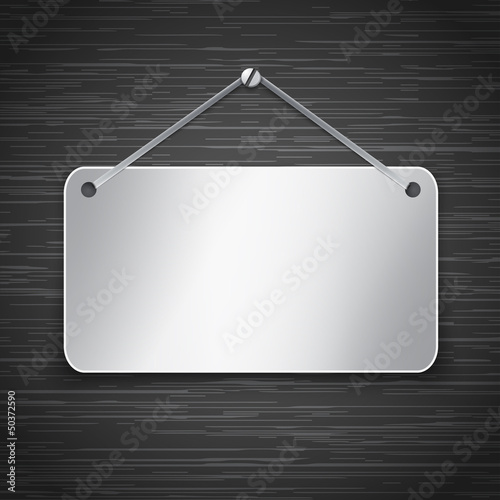Metallic tablet