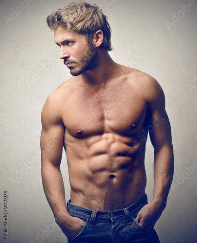 Fototapeten,gut aussehend,mann,nude,hintergrund