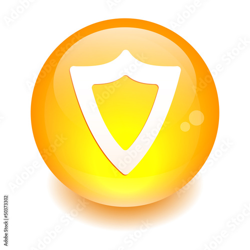 bouton sphere internet protection security