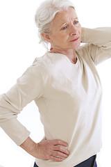 Femme - Douleur aux cervicales