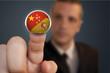 Pulsando botón chino/español