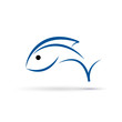 Vector Logo Fish