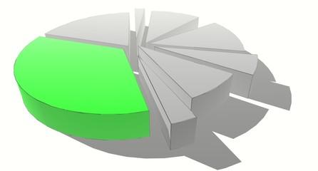 grey segments