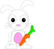 cute vector bunny rabbit