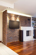 Spacious apartment - Brick wall