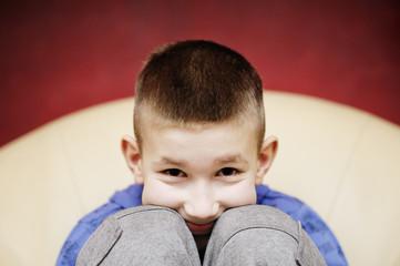 Portret małego chłopca