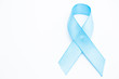 Blue ribbon for prostate cancer