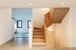 interior, staircase, modern house
