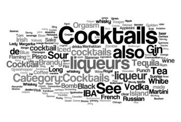 Cocktails concepts