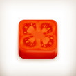 Slice of tomato app icon