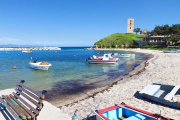 """Nea Fokea"" summer resort at Halkidiki, Greece"