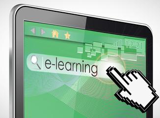 tablette tactile 3d recherche : e-learning