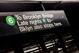 Brooklyn NYC Subway Sign - Fine Art prints