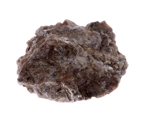 andalusite  mineral isolated on a white background