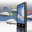 Smart phone Cloud computing