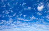 sky with cirrocumulus  clouds