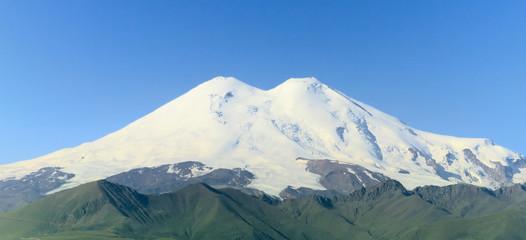 Mount Elbrus closed up, Russia