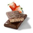 dietary choco bar with strawberry