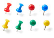 push pin thumbtack paper clip office business
