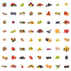 Collage Frutta/Collage Fruits