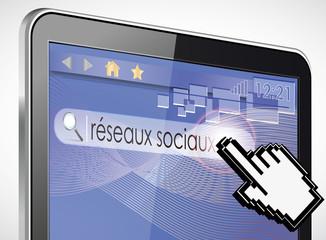 tablette tactile 3d recherche : réseaux sociaux