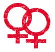 Stempel Venussymbol