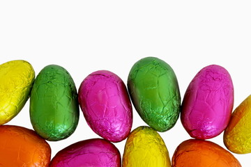 Easter Eggs Isolated 1