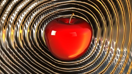 Power Red Hot Apple Ripple Shockwave Platinum