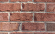 Detailed close up of a brick wall