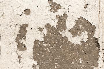 Concrete road paint tearing