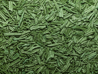 Spirulina background