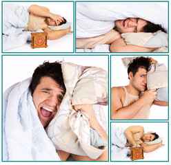 Man overslept something important