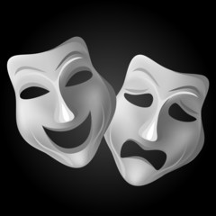 Theater mask set