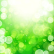 Green spring abstract nature background.