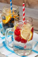 Sparkling Fruit Drinks