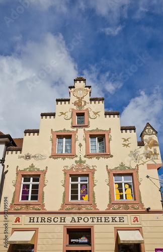 Deer drugstore (1698) in Offenburg, Germany