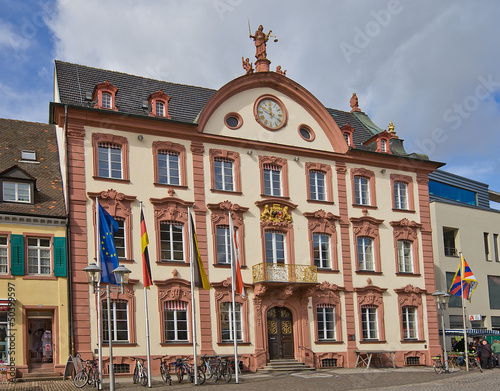 Old city hall (1741) in Offenburg, Germany